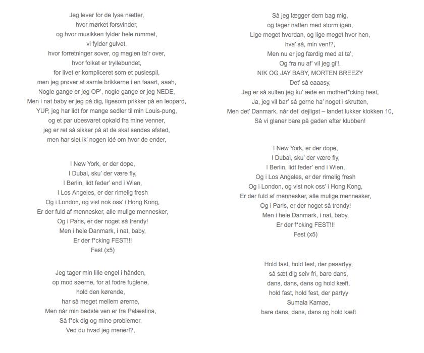 Verdens sjoveste sang (�ok, n�sten)   Sofies blog